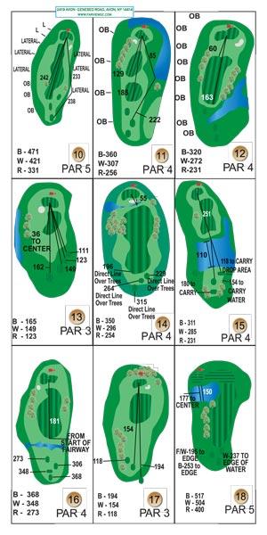golf scorecards, tee signs, yardage books - Millinnium Marketing ...